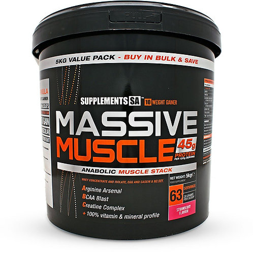 Supplements SA Massive Muscle 5KG
