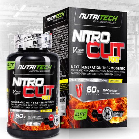 Nutritech Nitrocut NXT 120caps