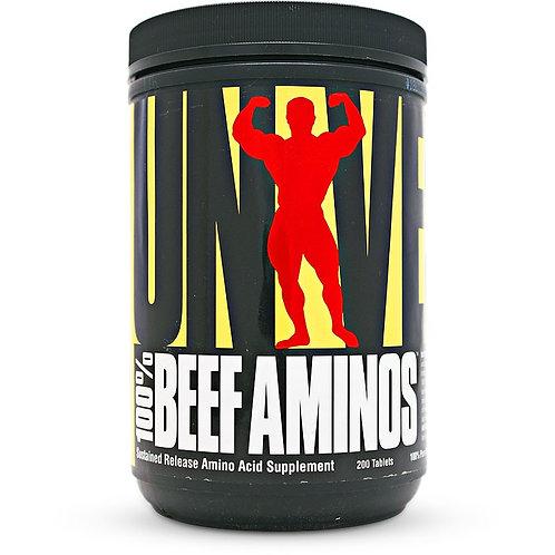 UNIVERSAL 100% BEEF AMINOS [200 CAPS]