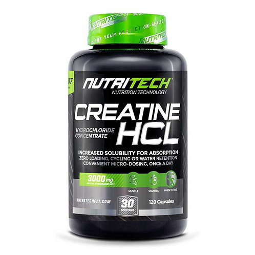 Nutritech Creatine HCL 120caps