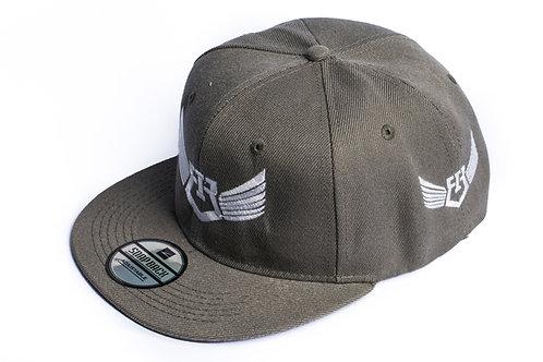 IR Fitness Wear SNAPBACK CAP (SILVER)