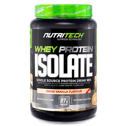 NUTRITECH WHEY PROTEIN ISOLATE [1KG]