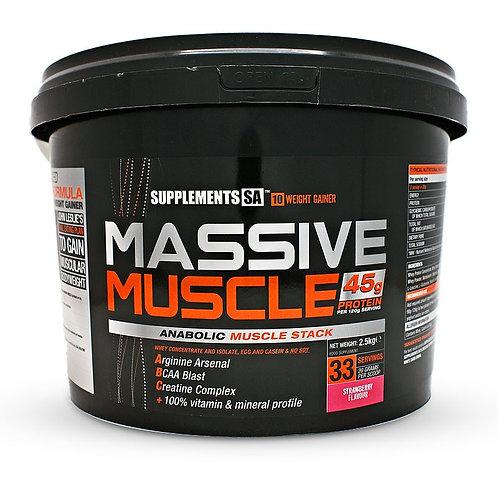Supplements SA Massive Muscle 2.5KG