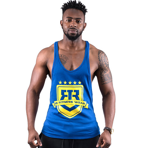 """IR FITNESS WEAR """"LIMITED EDITION"""" BLUE/YELLOW"""