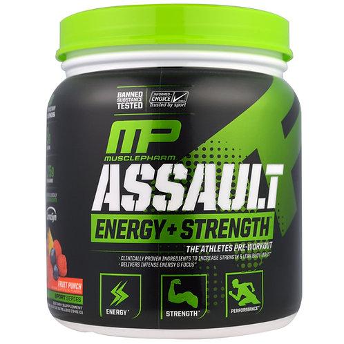 Muscle Pharm Assault  Energy + Strength  Pre-Workout 345g