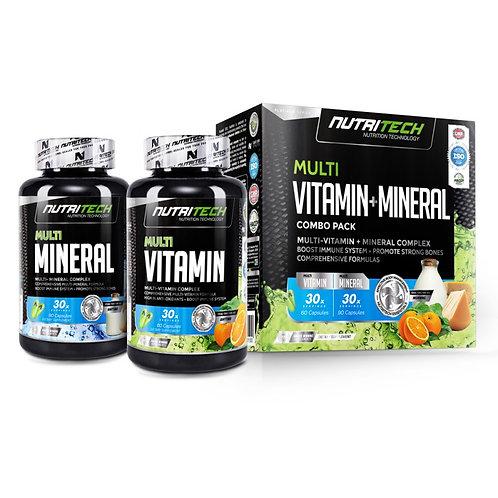 Nutritech Multi Vitamin + Mineral 120caps