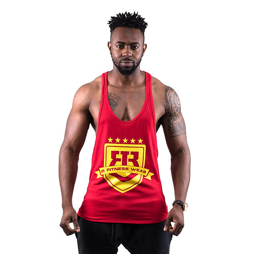 """IR FITNESS WEAR """"LIMITED EDITION"""" RED/YELLOW"""