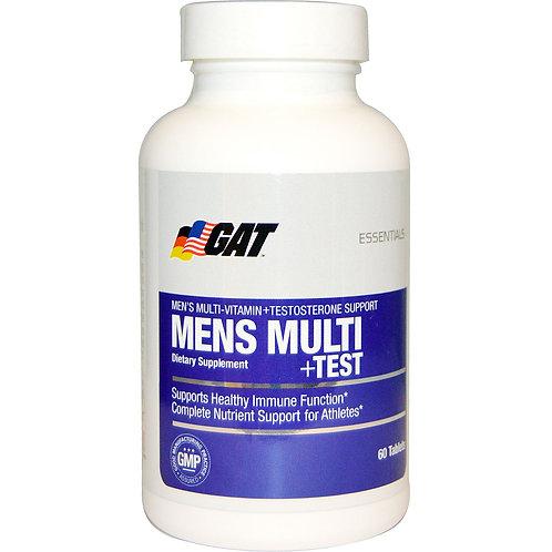 GAT MENS MULTI + TEST 60 TABS