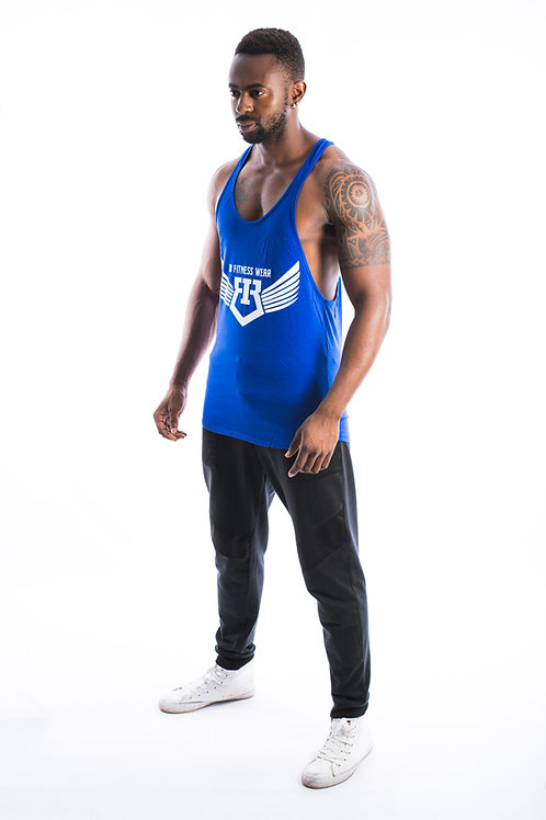 IR Fitness Wear TANK ( BLUE )