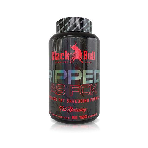 BLACK BULL RIPPED AS FCK 120 CAPSULES