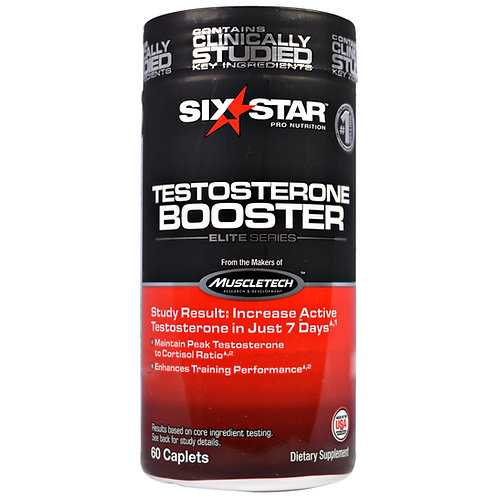 Muscletech Six Star Pro Nutrition Testosterone Booster 60 Caps