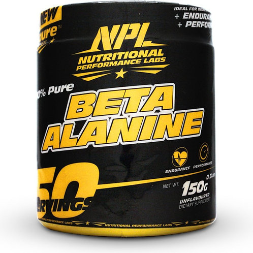 NPL BETA ALANINE 150G