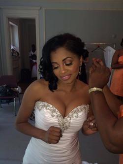 African Bridal Makeup