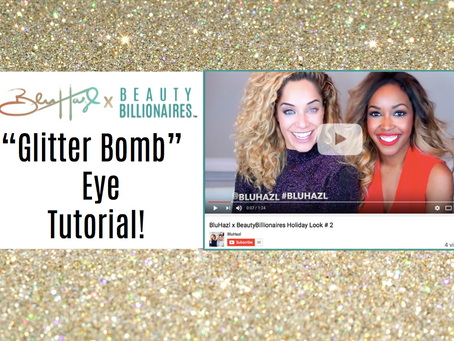 Holiday Makeup Tutorial #2 Collaboration with the beauties from @BluHazl!
