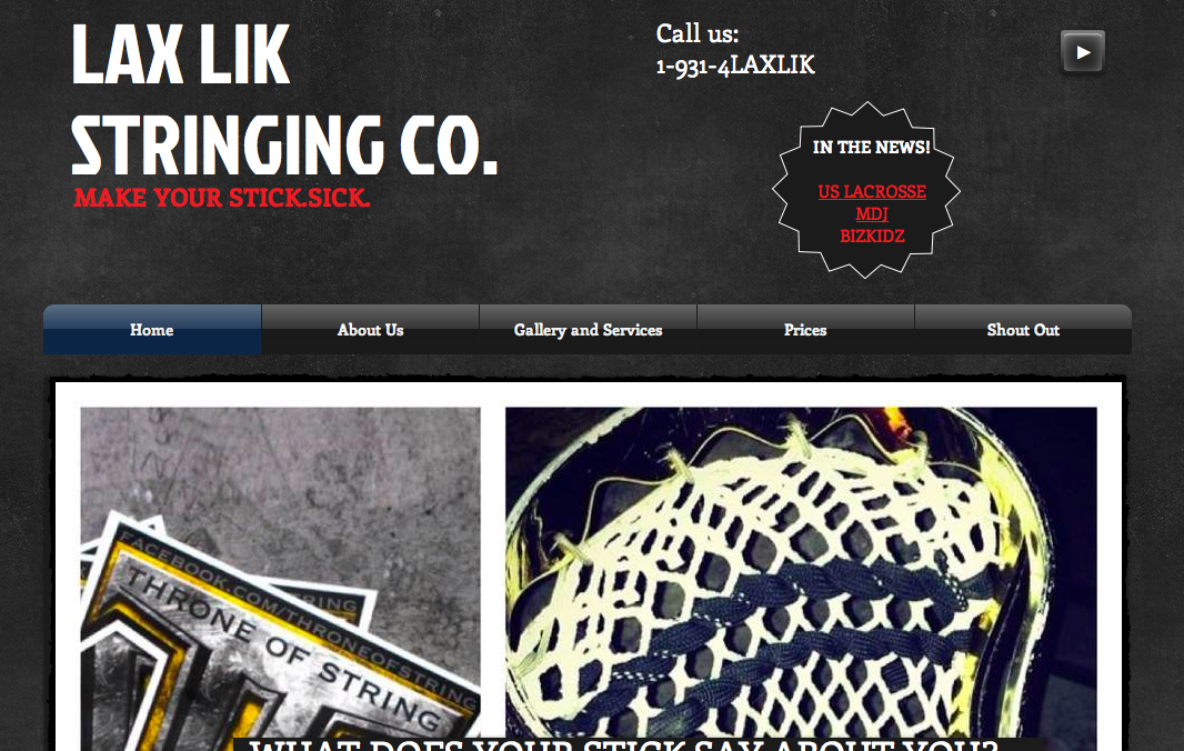 LaxLik Website
