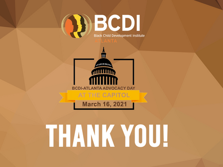BCDI-Atlanta Advocacy Day at the Capitol