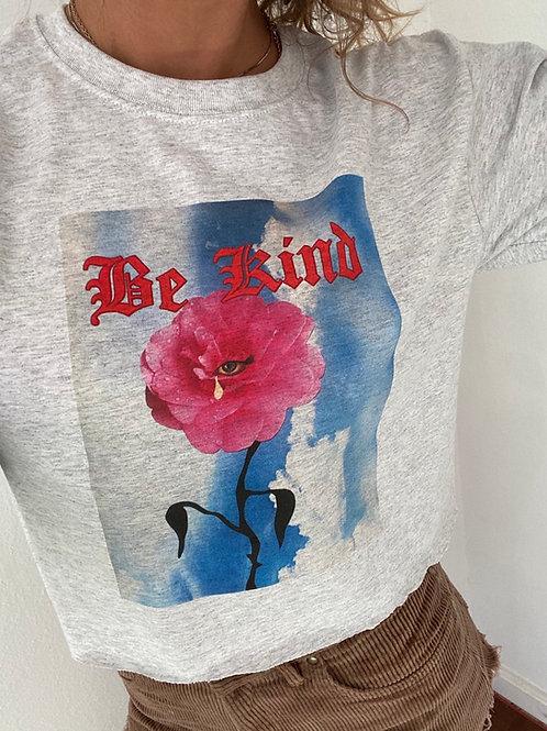 Be kind grey long sleeve