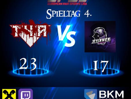 EFSL LIGA 2 Spieltag 4