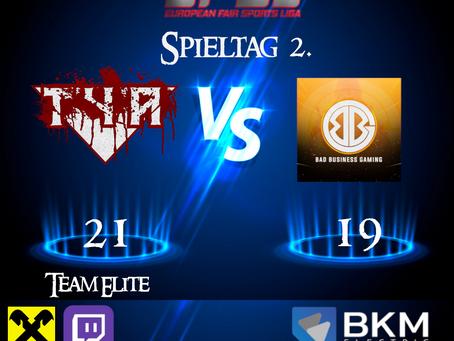 EFSL LIGA 2 Spieltag 2
