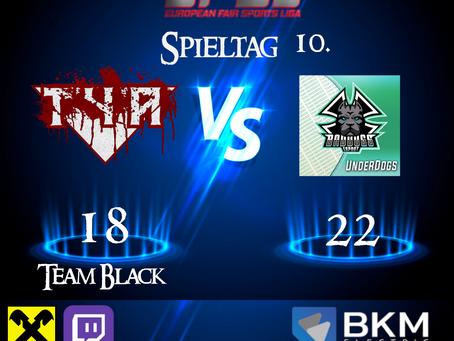 EFSL LIGA 3 Spieltag 10