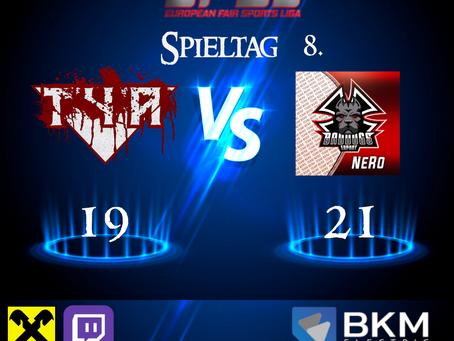 EFSL LIGA 2 Spieltag 8