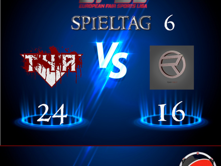 Liga Spiel vs Team Rject