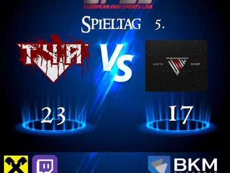 EFSL LIGA 2 Spieltag 5