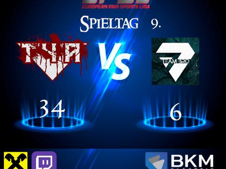 EFSL LIGA 2 Spieltag 9