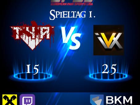 EFSL LIGA 2 Spieltag 1