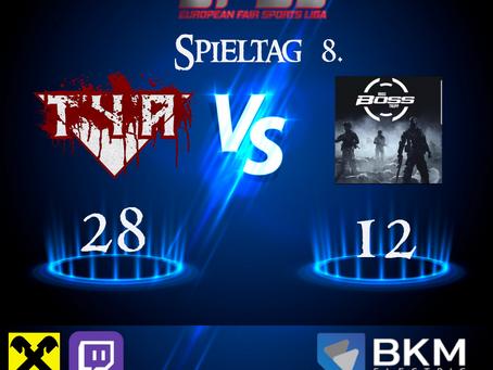 Liga Spiel vs Hugo Boss Trupp