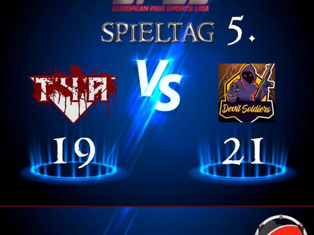 Liga Spiel vs DevilSoldier