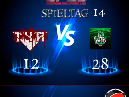 Spieltag 14 vs Offline Express