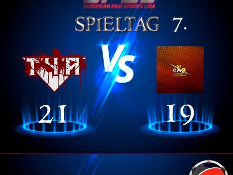Liga Spiel vs Team eXpunge