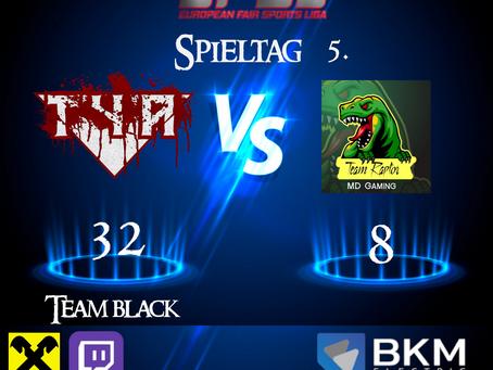 EFSL Liga  3.2  Spieltag 5