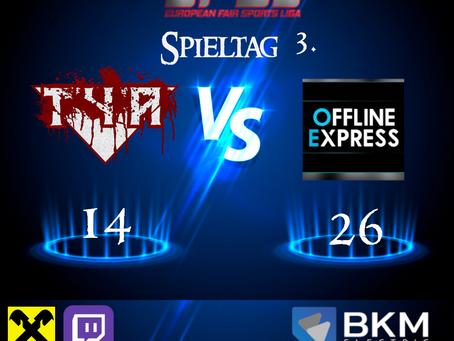 EFSL LIGA 2 Spieltag 3