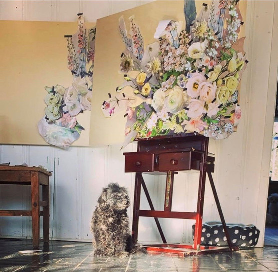 Picasso in the studio
