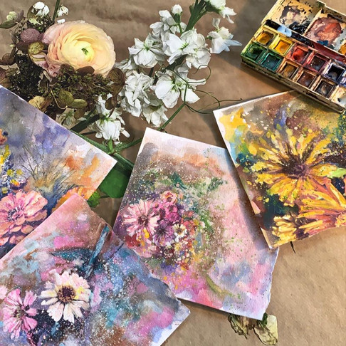 Collection of Mini-florals