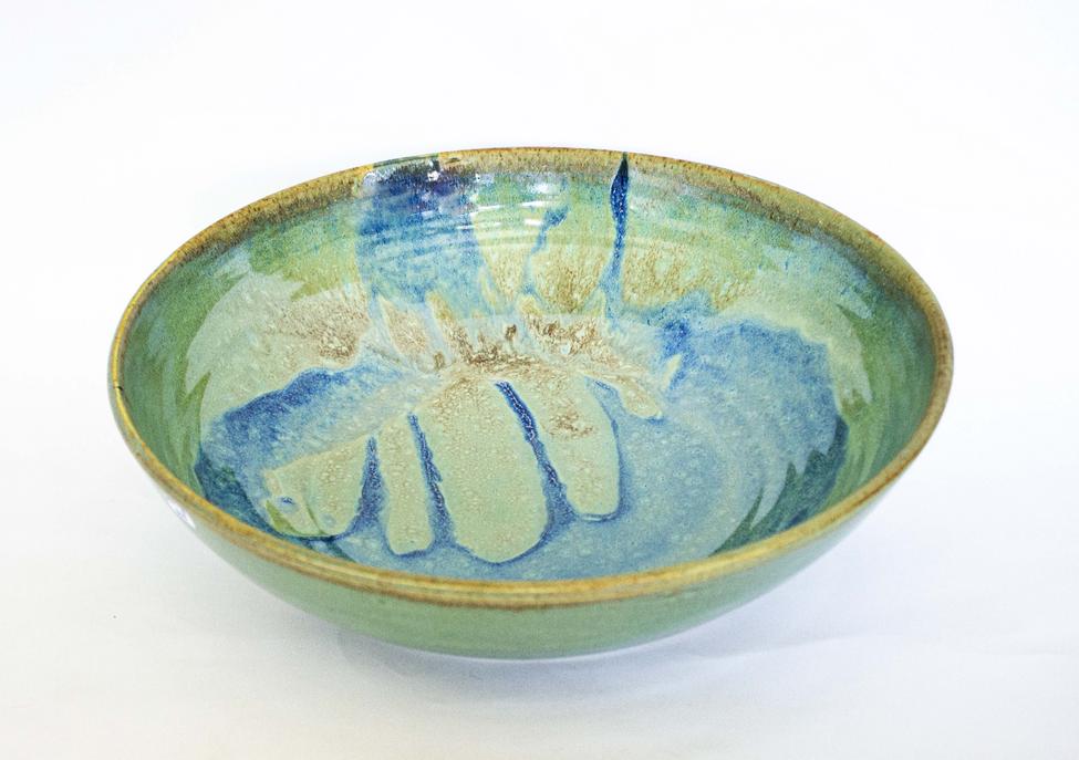 Dragon serving bowl