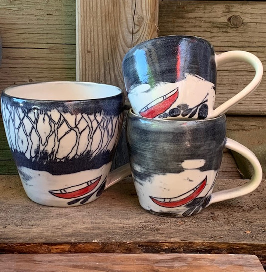 Canoe Mugs