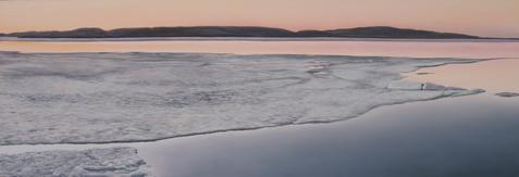 Receding Ice 2 -Dyptic