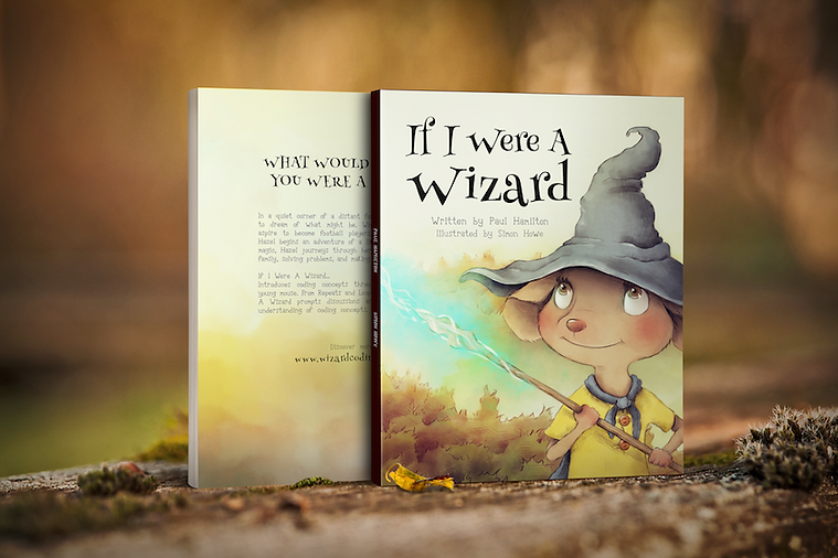 Wizard picture book