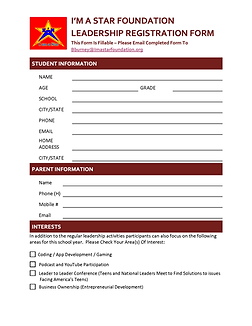 STUDENT CONTACT INFO_LEADERSHIP PACKET (