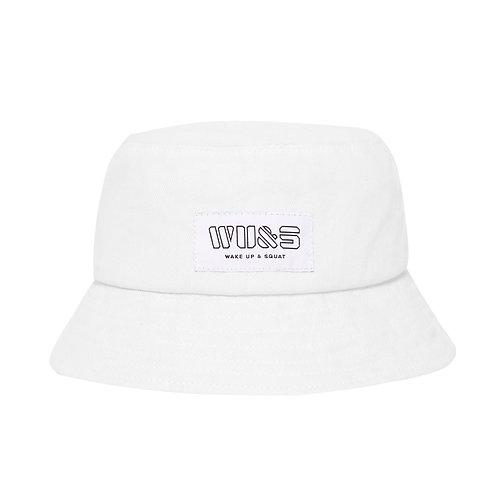 Biały Bucket Hat WU&S