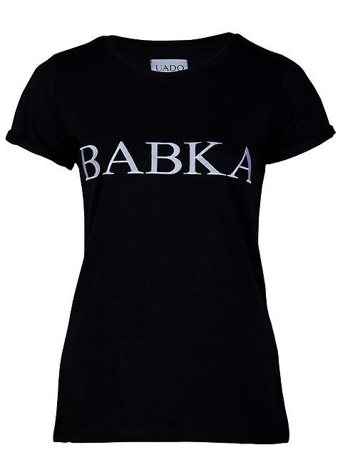 koszulka, femi-shirt UADO babka czarna