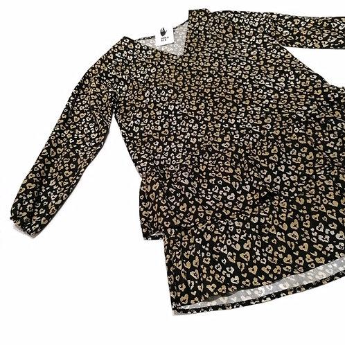 Sukienka z ciemny gepard