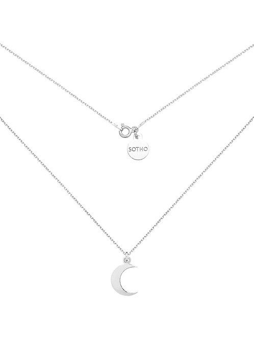Naszyjnik Srebrny z Księżycem N2743