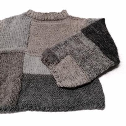 sweter handmade MIUT wool 2