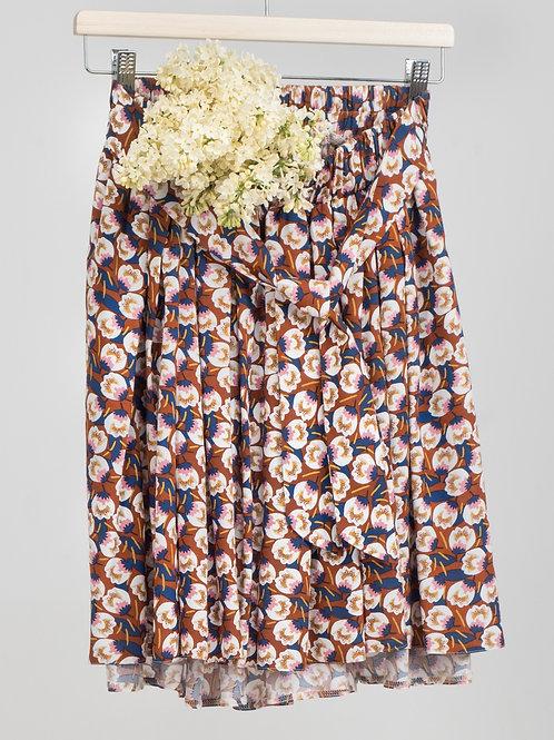 GAJA mini spódnica w kwiaty