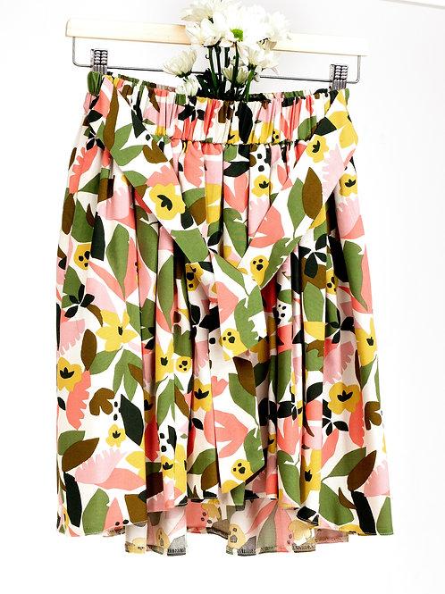 KATA mini spódnica w abstrakcyjny kolorowy wzór