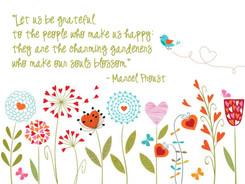 Let us be grateful...